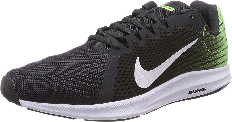 Nike Men's Downshifter 8 Running shoes, Multicolour (Anthracite White Lime Blast Black 013), 6 UK