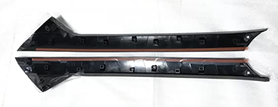 FORD EXPLORER GGG DW1843 (R) + (L) Pair of Windshield Trim Molding for Ford Explorer Windshield-Outer Pillar