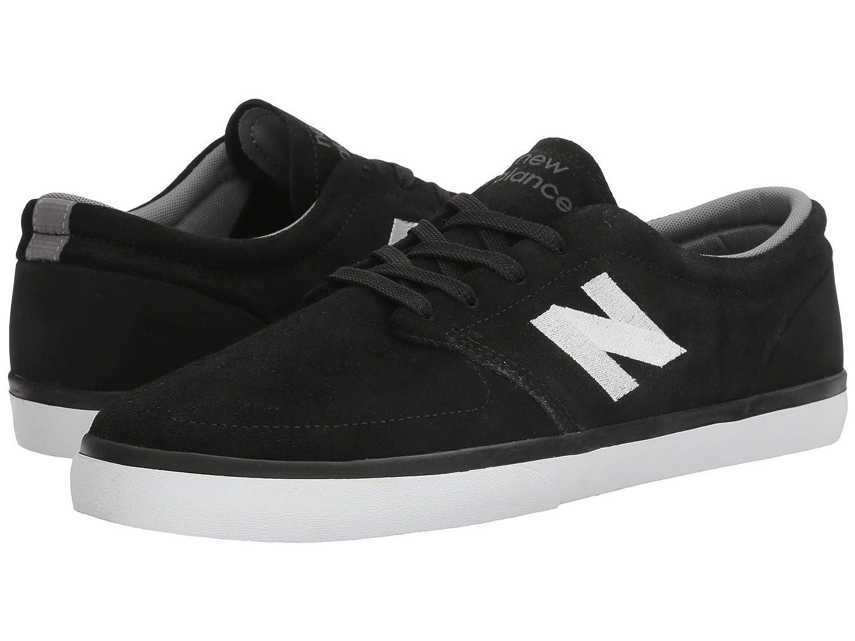 (ニューバランス) New Balance メンズスニーカー?カジュアルシューズ?靴?スケート NM345 Black/White 10.5 (28.5cm) D - Medium