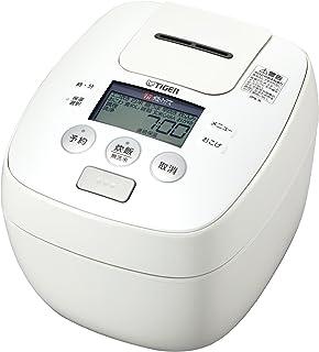 タイガー 炊飯器 5.5合 圧力 IH ホワイト 炊きたて 炊飯 ジャー JPB-R100-W Tiger