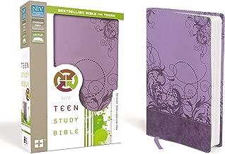 NIV, Teen Study Bible, Leathersoft, Purple