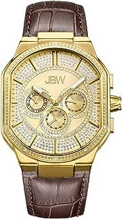 JBW Luxury Men's Orion 12 Diamonds Multi-Function Swiss Movement Watch - J6342B