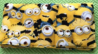 minion checkbook cover