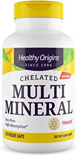 Healthy Origins Chelated Multi Mineral (Featuring Albion Minerals), 120 Veggie Caps