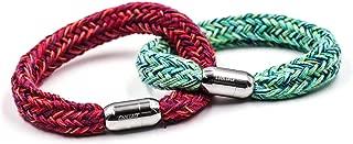 Couples Lover His Hers Shoelace Bracelets Friendship Relationship Distance Bracelets Magnetic Buckle
