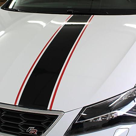Finest Folia Auto Rallystreifen 4 5 Meter X 19 Cm Ralleystreifen Aufkleber Viperstreifen Seitenstreifen Rennstreifen Wohnmobil Cdx141 4 5meter X 19cm Auto