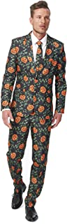 Suitmeister Halloween Suits for Men in Different Prints and Colors – Adult Costumes Include Jacket Pants & Tie