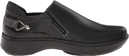 Jet Black Leather/Black Madras Leather/Tin Gray Leather