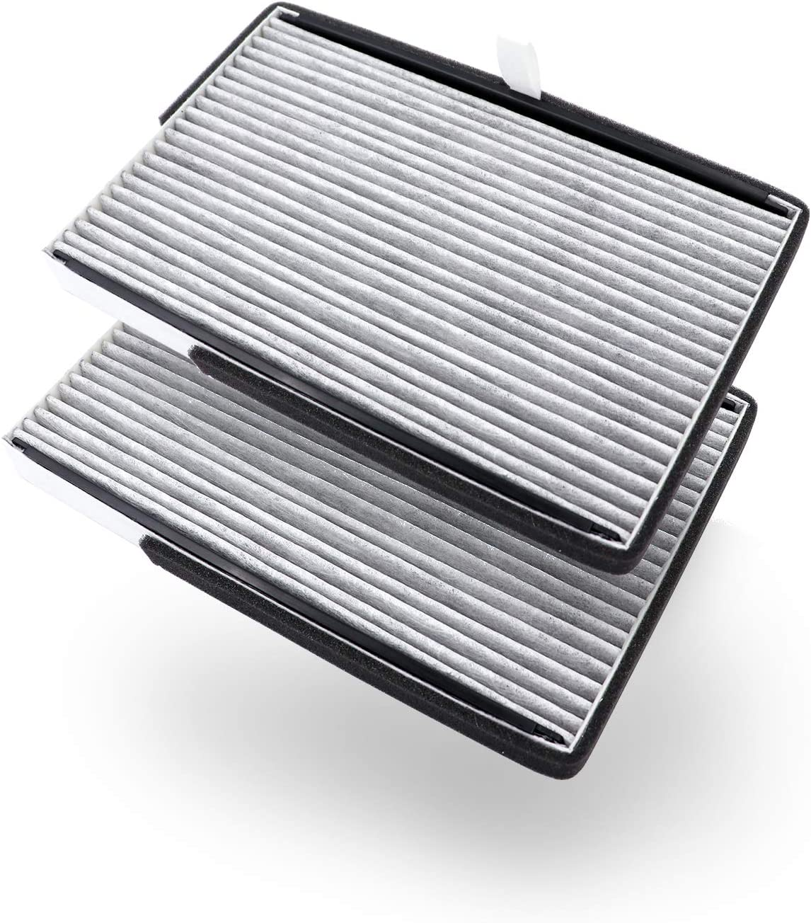 Amazon Basics Cabin air filter Be super Popular brand welcome 2-pack with vehic a gray works