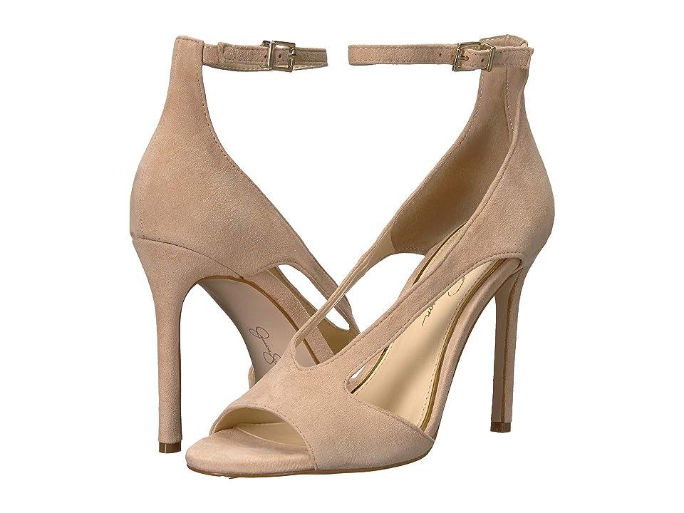 Jessica Simpson Jasta (Sand Dune Lux Kid Suede) High Heels