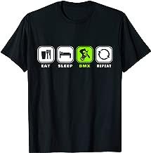 Eat Sleep BMX Repeat T-Shirt Bicycle Funny Motocross Gift