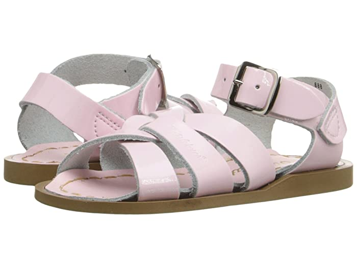Salt Water Sandal by Hoy Shoes  The Original Sandal (Infant/Toddler) (Shiny Pink) Girls Shoes