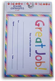 Teaching Classroom Certificates - Great Job! - 24 Count