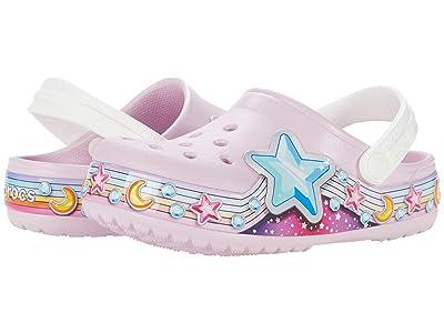 Crocs Kids Fun Lab Star Band Clog (Toddler/Little Kid) Girl