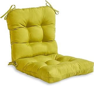 Greendale Home Fashions Outdoor Seat/Back Chair Cushion, Kiwi