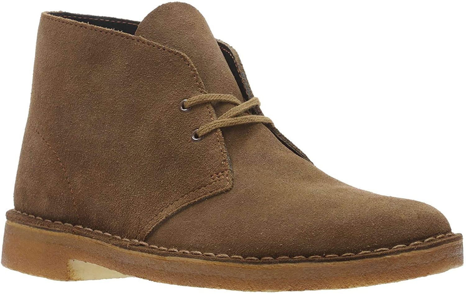 Special price for a limited time Clarks ORIGINALS 5 ☆ popular Mens Desert Boot Suede 10.5 Brown Boots Cola US