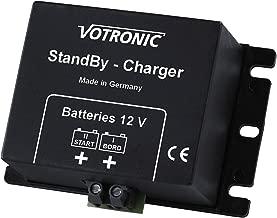 Votronic 2A 12V DC a DC recargable a recargable cargador de/cargador de reserva para autocaravanas, caravanas, Barco, Yate, RV, furgoneta, remolque