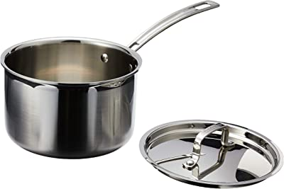 Cuisinart MultiClad Saucepan with Cover - Best kitchen appliances for college students