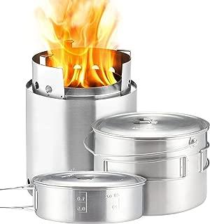 solo stove campfire & 2 pot set combo
