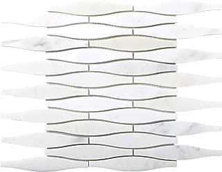 Emser Tile M05WINTFR1212MCO Winter Frost Convex Mo/1212 Ceramic Tiles