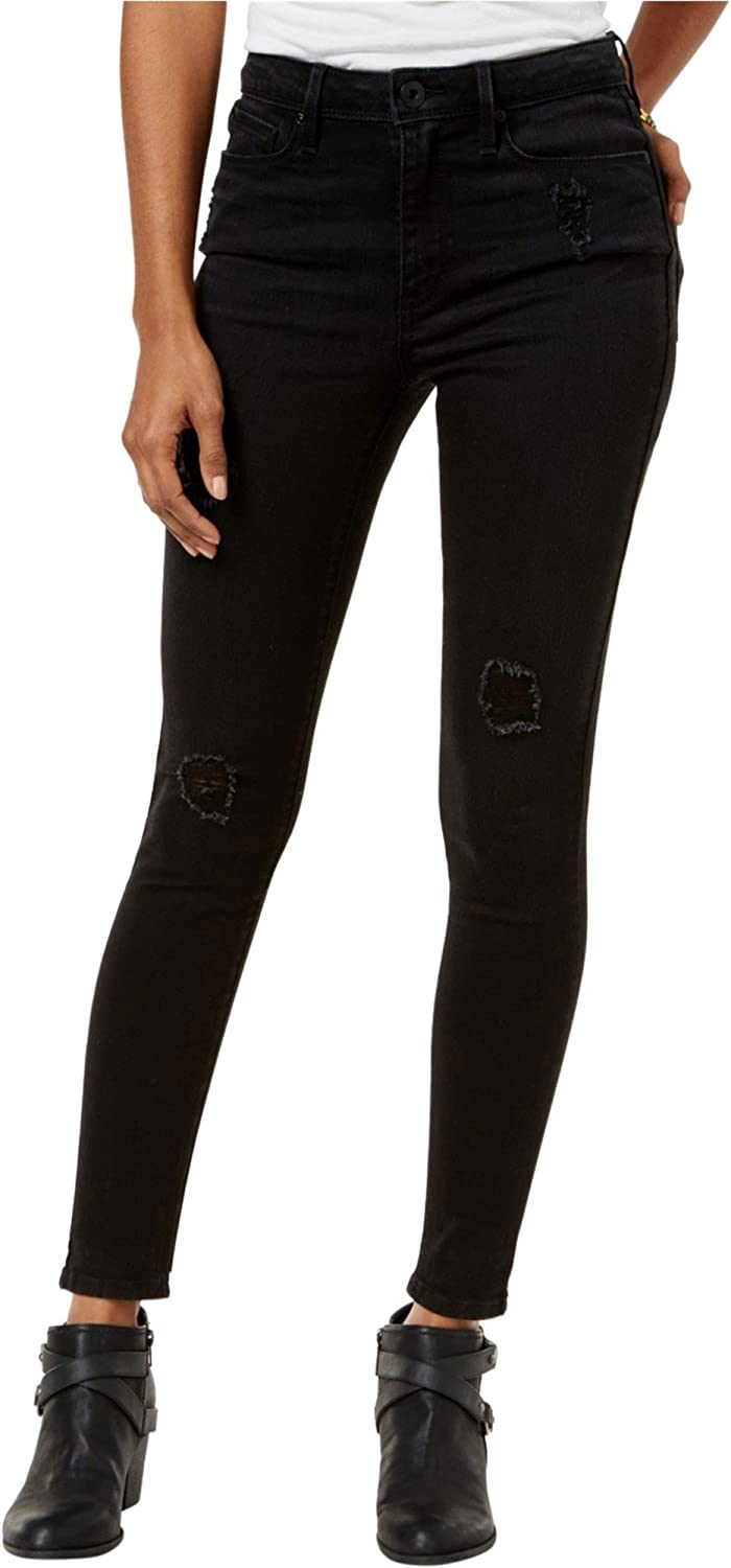 American Rag Womens Ripped Skinny Fit Jeans