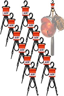 BatBob Team 12 pack Dugout Gear Hanger - The Dugout Organizer - For Baseball and Softball to hold bats, helmets and gloves
