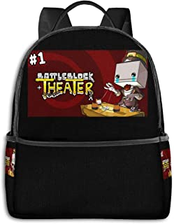 RUGUOSHII BattleBlock Theater Adjustable Shoulder Backpack With Pockets For Mens Womens Kids