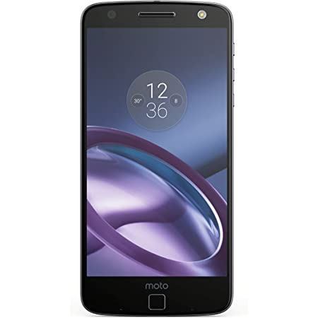 "Moto Z GSM Unlocked Smartphone, 5.5"" Quad HD screen, 64GB storage, 5.2mm thin - Black"