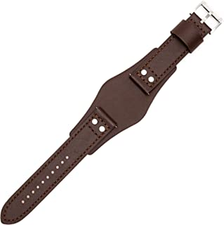 Fossil Bracelet de Montre 22mm Cuir Marron CH-2891 | LB-CH2891