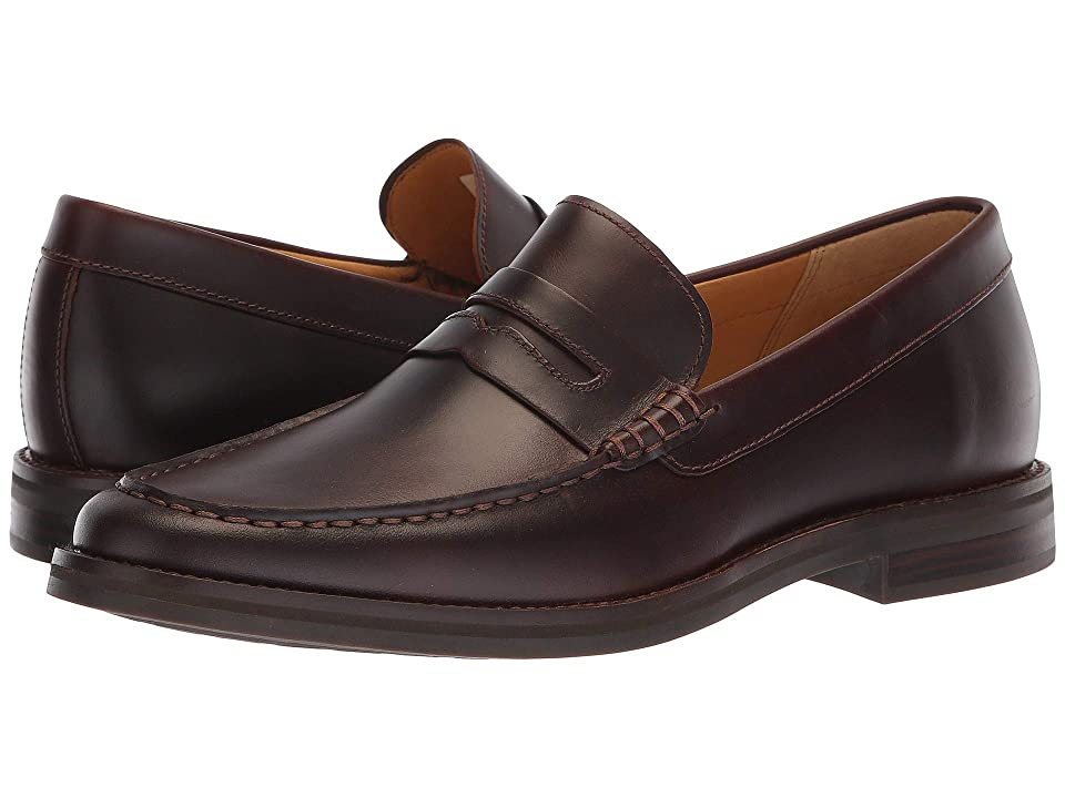 Sperry Gold Exeter Penny Loafer (Amaretto Leather) Men