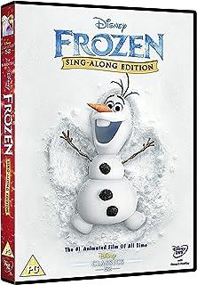 Disney Frozen - Sing Along Edition   DVD   English Edition