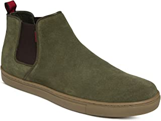 aecd0dc09fb482 Green Men's Boots: Buy Green Men's Boots online at best prices in ...