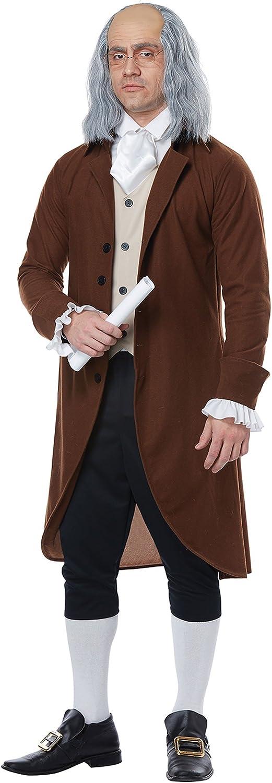 Adult Benjamin Franklin Costume: Clothing