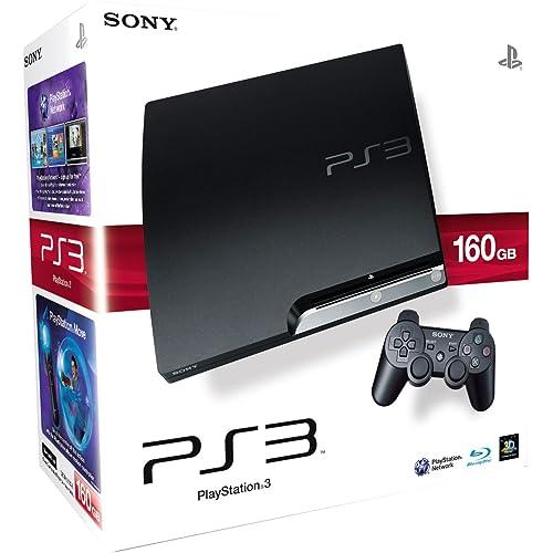 Sony PlayStation 3 Slim Console (160 GB Model)