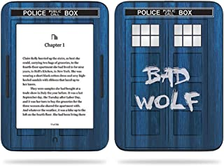 MightySkins Skin Compatible with Barnes & Noble Nook GlowLight 3 (2017) - Time Lord Box | Protective, Durable, and Unique Vinyl Decal wrap Cover | Easy to Apply, Remove | Made in The USA