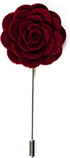 Set 3 x Blumen Brosche Reversnadel Anstecknadel Hochzeit Pin Blütenbrosche
