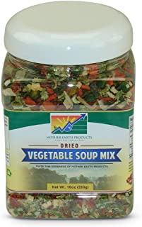Mother Earth Products Dried Vegetable Soup Mix, Quart Jar