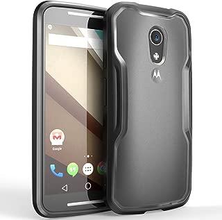 SupCase [Unicorn Beetle Series for Motorola Moto G (2nd Gen.) Phone 2014 Release, Premium Hybrid Bumper Case- Not Fit Moto G (1st Generation) (Black)