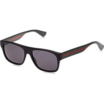 Gucci GG0001S, Gafas de Sol para Hombre, Negro (Dark), 52: Amazon ...