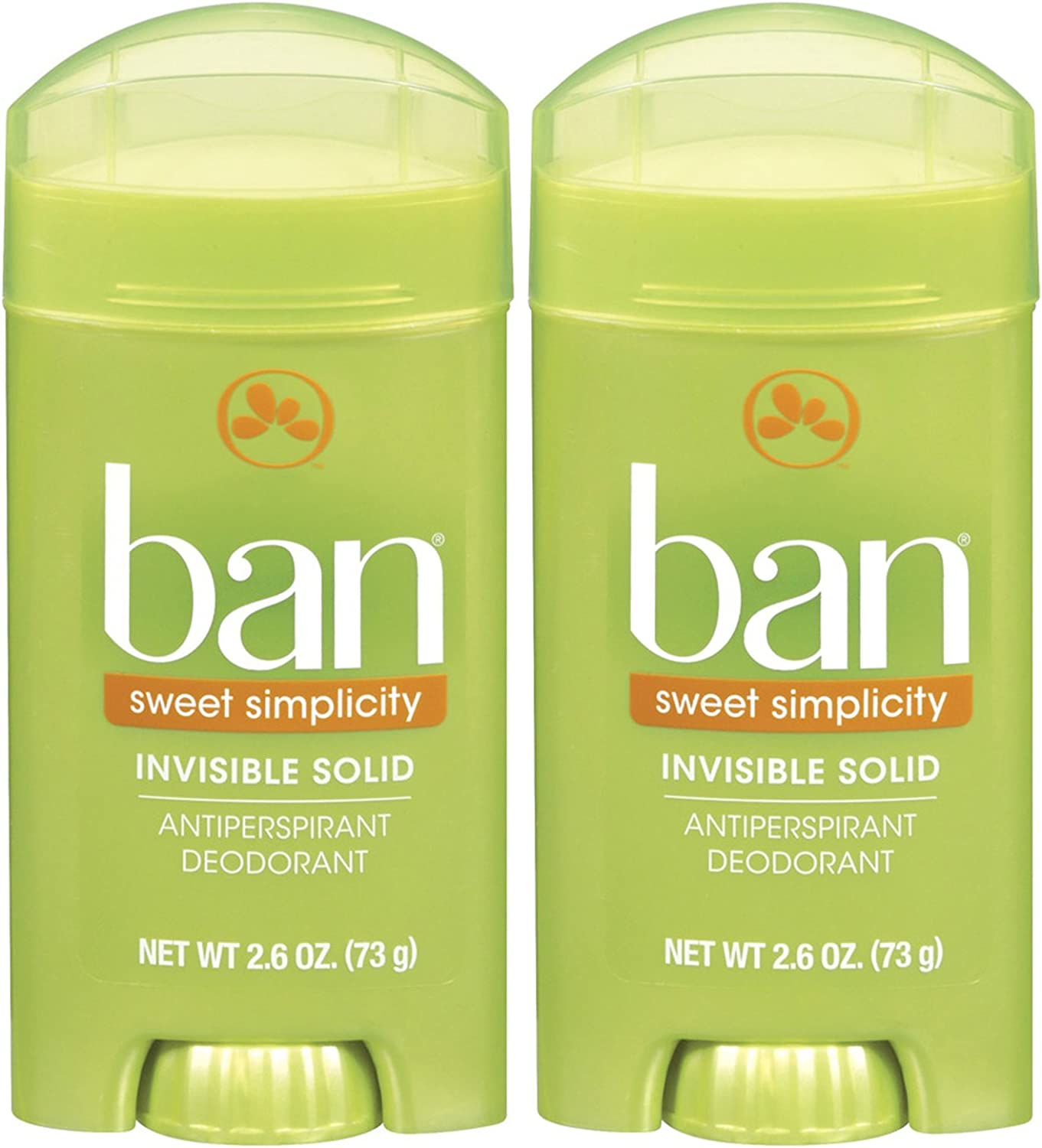 New color Ban Invisible Solid Deodorant Popular products Sweet Simplicity pk oz - 2.6 2