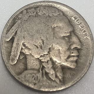 1920 S Buffalo Nickel AG