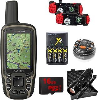 $369 » Garmin GPSMAP 64sx Handheld GPS with 16GB Camping & Hiking Bundle - (010-02258-10)