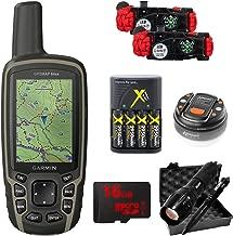 Garmin GPSMAP 64sx Handheld GPS with 16GB Camping & Hiking Bundle - (010-02258-10)