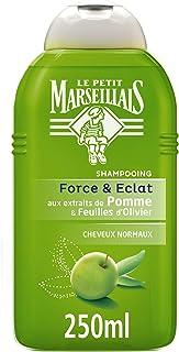Le Petit Marseillais - Apple Shampoo Capelli Normali Olivier - 250 ml flacone - Confezione da 3
