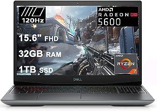 Dell 2021 Flagship G5 15 スペシャルエディション ゲーミングノートパソコン 15.6インチ FHD 120Hz ディスプレイ AMD 8コア Ryzen 7 4800H (ビートi7-10750H) 32GB RAM 1...