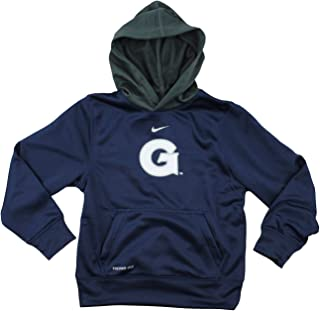 38f6eaee9d81 Nike NCAA Big Boys Youth Georgetown Hoyas ThermaFit Performace Fleece  Pullover Hoodie