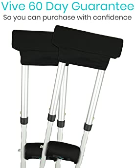 Crutch Replacement Part Arm Pad/&Hand Grip Anti-slid Crutches Underarm Covers