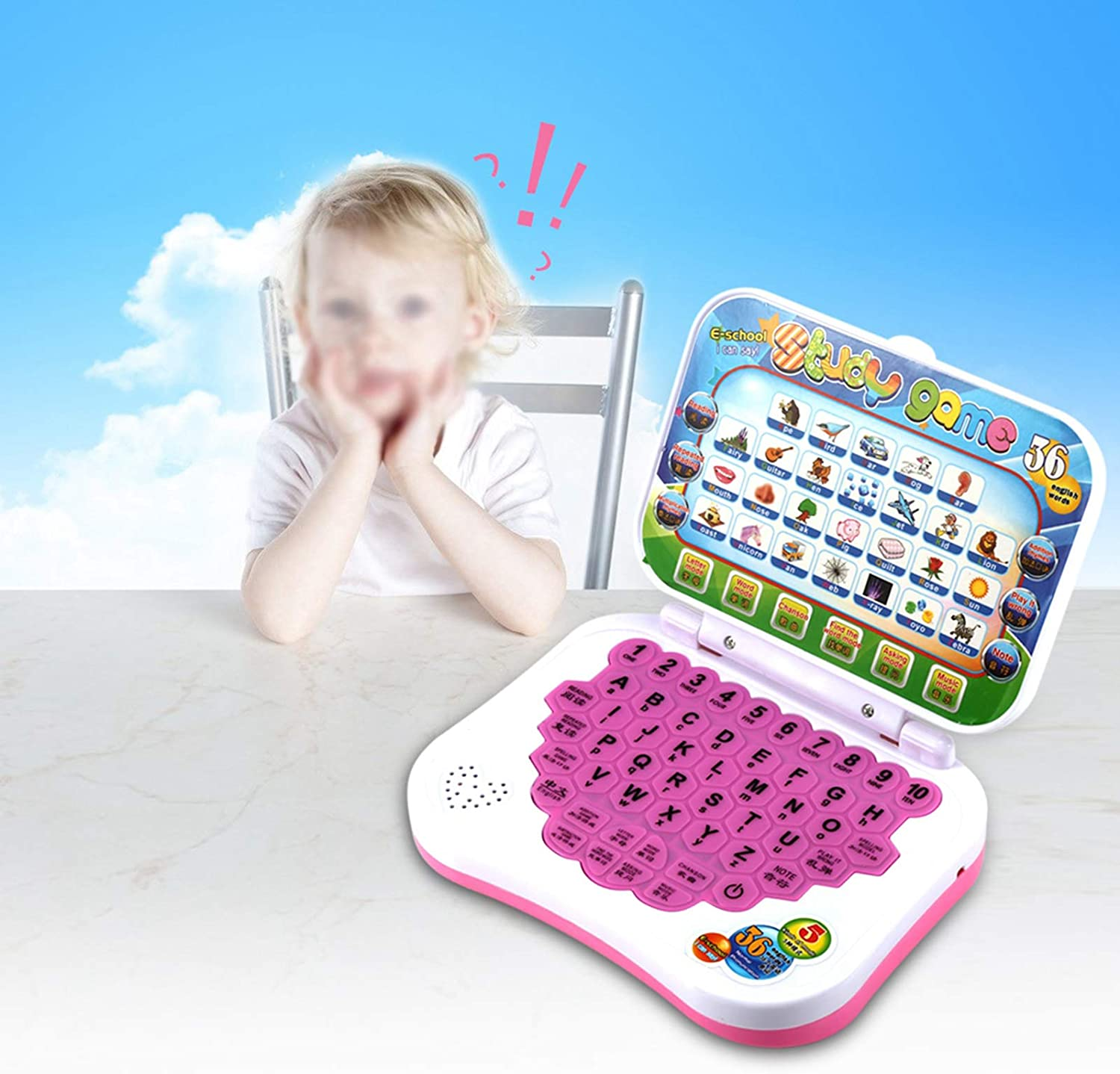 Jacksing Baby Laptop Smart Easy Outstanding Ea to Practical Al sold out. Convenience Use