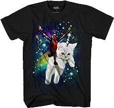 Marvel Deadpool Space Trip Unicorn Kitty Adult T-Shirt