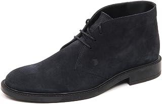 336be2d86cb3 Tod's E5100 Polacchino Uomo Blu Polacco Scarpe Boot Shoe Man